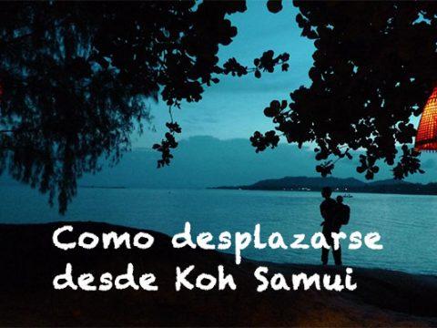 Como desplazarse desde Koh Samui