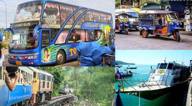 Como ir de Bangkok a Chiang Mai, Krabi, Phuket, Koh Tao y como moverse por Tailandia
