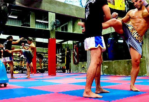 Entrenamiento Muay Thai Bangkok Tailandia