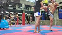 Entrenamiento de Muay Thai en Bangkok