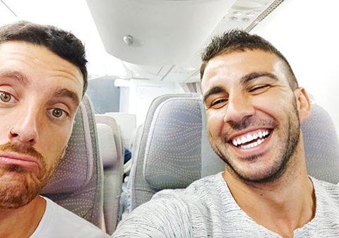 Escala en Dubai Fly Emirates